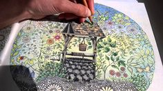 This Is One Of My Favourite Colouring Pages In Johanna Basfords Book Secret Garden