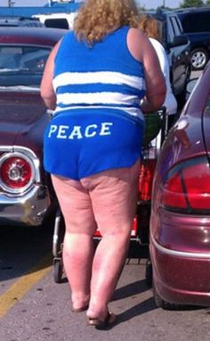What Is Seen Cannot Be Unseen. Peace from Walmart! - Funny Pictures at Walmart http://ibeebz.com