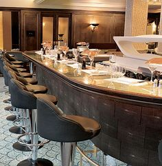 Scott's in Mayfair - classic and very very cool!