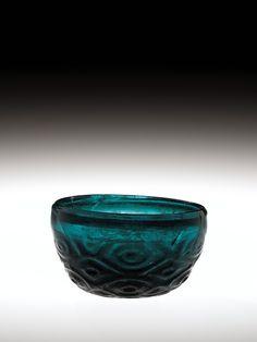 Bowl, probably Northern Iran, 1000-1299. Gift of The Ruth Bryan Strauss Memorial Foundation. 79.1.203. #corningmuseumofglass #cmog #glass