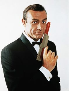 The name's Zapper, Nintendo Zapper. Sean Connery as James Bond is now a badass. GoldenEye64's Pierce Brosnan, beware!