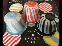 DIY coffee pod: Comment-faire un pendentif tourbillon avec washi tape Cup Crafts, Diy And Crafts, Nespresso Club, Tassimo Coffee Pods, Bijoux Fil Aluminium, Upcycled Crafts, Projects To Try, Crafty, Nitro Coffee