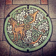 ご当地マンホール in 奈良