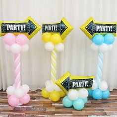 Arrow balloon Cartoon Chalkboard Birthday Arrow Anagram Foil Balloons in Party Supplies Kid's Helium Inflatable Toy Balloon Wedding Balloon Decorations, Balloon Centerpieces, Wedding Balloons, Balloon Arrangements, Birthday Balloons, Balloon Columns, Balloon Arch, Balloon Garland, Balloon Ideas
