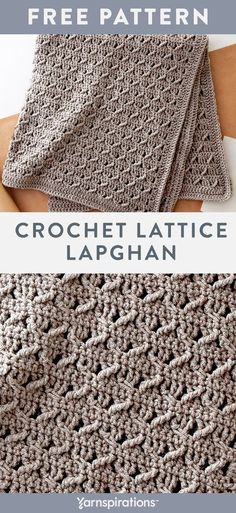Crochet Lattice Lapghan free easy crochet pattern in Suoer Saver yarn. Alternate… Crochet Lattice Lapghan free easy crochet pattern in Suoer Saver yarn. Alternate…,Crochet Crochet Lattice Lapghan free easy crochet pattern in Suoer Saver. Crochet Afghans, Afghan Crochet Patterns, Knit Or Crochet, Single Crochet, Knitting Patterns, Crochet Blankets, Redheart Free Crochet Patterns, Baby Blankets, Crochet Blanket Stitches