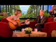 "Keith Urban News - Keith Urban Sings ""For You"" Live on Ellen - < Country Music Weekly Country Music News, Country Music Artists, Music Websites, Music Videos, Keith Urban Songs, Urban News, Sing For You, Top Country, Somebody To Love"