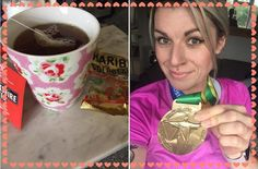Whats not to love. A fine Gold Rush medal, a Cuppa Tea and a pack of Haribo. All courtesy of MyRace for this Gold Rust Virtual Race finisher! Cuppa Tea, Gold Rush, Rust, Tableware, Racing, Dinnerware, Cup Of Tea, Tablewares, Auto Racing
