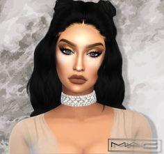 MAC cosimetics: Cupids Bow Highlight • Sims 4 Downloads
