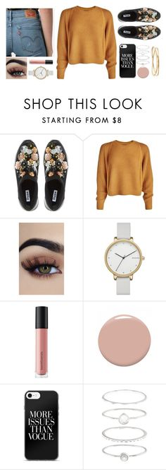 """""""More Issues than Vogue"""" by ac-4am on Polyvore featuring Dune, Skagen, Bare Escentuals, Christian Louboutin, Accessorize and Nadri"""