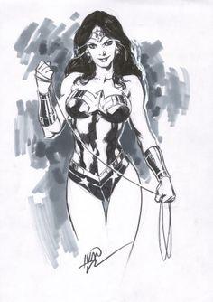 Wonder Woman by Ivan Reis *