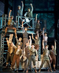 """Seize the day! The original Broadway cast recording of Disney's """"Newsies"""" will be released on itunes April 10! #newsies #broadway #musical"""