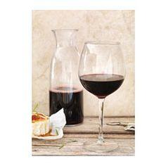 ХЕДЕРЛИГ Бокал для красного вина, прозрачное стекло - IKEA