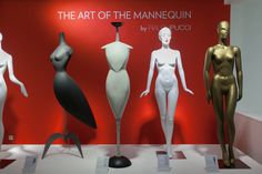 Exhibition The Art of the Mannequin in Cofrad's showroom in Paris #Ralph Pucci #Cofrad Mannequins