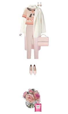 """""""She never grew out of her love of pink"""" by fsommerv on Polyvore featuring Dušan, Alexander McQueen, Temperley London, Givenchy, Christina Debs and Diane James"""