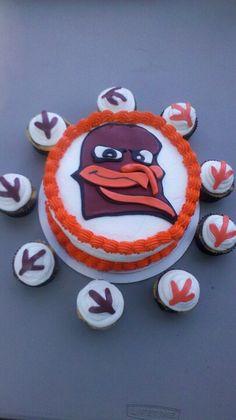 Hokies Cake by Misty Watkins
