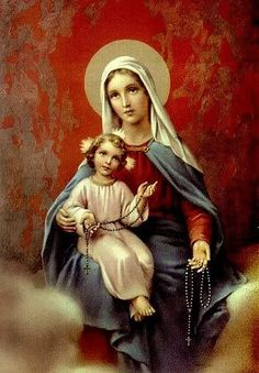 Blessed Virgin Mary and Christ Child