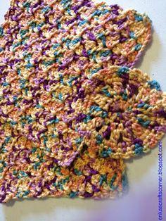 Erika's Crafts Corner: Hot Pad, Potholder or Dishcloth. **Free pattern from ericascraftscorner.blogspot.com.**
