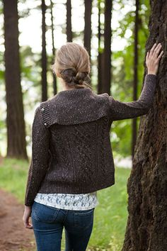 Freeport Cardigan - Knitting Patterns and Crochet Patterns from KnitPicks.com by Edited by Knit Picks Staff