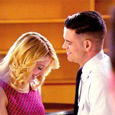 Quinn Fabray Puck Quick Glee Dianna Agron Mark Salling