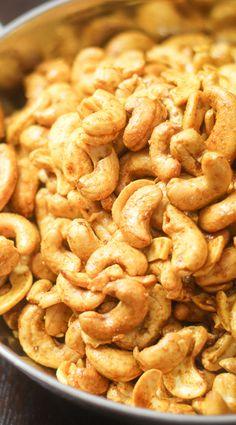 Curry Roasted Cashews