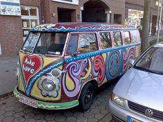 Make Love - VW T1 Bully Bus