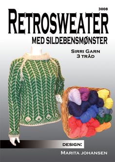 Retro sweater Knit Sweaters, Sweater Cardigan, Cardigans, Mittens, Knits, Knit Crochet, Knitting Patterns, Pullover, Retro