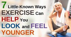 Improved posture, increased flexibility, improved mood, better sleep, and reduced visceral fat are just some of the many health benefits of exercise. http://fitness.mercola.com/sites/fitness/archive/2015/04/17/7-ways-exercise-makes-you-younger.aspx