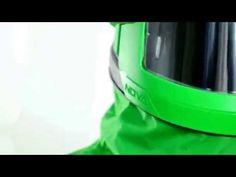 Pieskovacia kukla NOVA 3 ™ s nylonovou bundou ukazuje budúcnosť ochrany vybavenia pre pieskovanie.