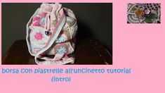 borsa con piastrelle all'uncinetto tutorial (intro)