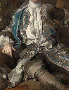 Portrait d'un Jeune Noble (Détail) Nicolas de Largilière . 1730