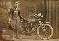 Model T Ford Forum: Old Photo - Model T Brass Era Indian Racing Motorcycle