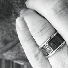 When you have inked, it's all safe to get ringed. Black Rings, Casio Watch, Wedding Rings, How To Get, Ink, Accessories, Instagram, Design, Fashion
