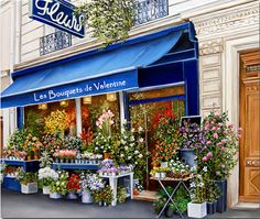 Magical Homes and Stuff Marie Claire, Boutique Chic, Beautiful Flowers, Beautiful Places, Colorful Flowers, Flower Shop Interiors, Flower Shop Design, Magical Home, Floral Room