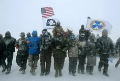 US veterans return to Standing Rock to form human shield to protect Dakota Access pipeline protesters 'We've stood in the face of fire before. We feel a responsibility to use the skills we have'