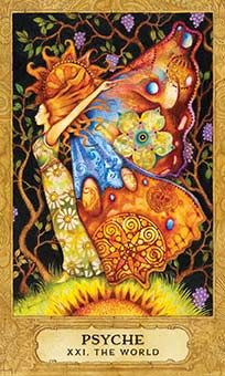 August 19 Tarot Card: The World (Chrysalis deck) Your past and your future converge in this present moment. You've grown, you've learned, and you're ready to soar now