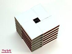 Adventi naptár gyufásdobozból - Manó kuckó Advent, Container