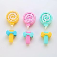 Z42 Kawaii Cute Candy Lollipop Correction Tape Erasers Corrector School Office Supply Student Stationery Kids Gift #Affiliate