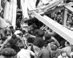 Caiguda del Cadafal de Copeo al 1954