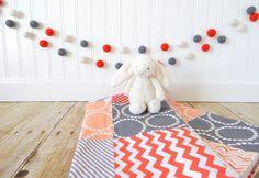 wool felt ball diameter: 3/4 inch (2 cm)  >length: approx. 4 feet (1.22 metres), 7 feet (2.1 metres), 10 feet (3 metres), 13 feet (3.9 metres)
