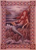 Web page devoted to the work of artist Teresa Wentzler, who creates fantasy-inspired counted cross stitch designs, and intricate pen and ink drawings. Cross Stitch Designs, Crossstitch, Mermaid, Ink, Fantasy, Drawings, Artist, Painting, Inspiration