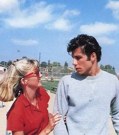 sandy & danny #grease he was beautiful once.