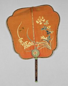 Unknown, maker, China.  screen fan.  after 1801 — before 1900.  19th century. Fitzwilliam Museum.