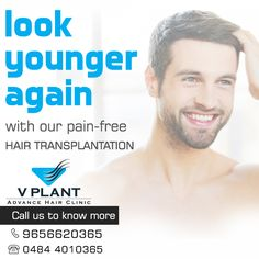 Get your hair transplanted from VPlant - Advance Hair Clinic for Hair Transplantation ☎: (91) 9656620365 | 0484 4010365 📧: vplanthairclinickochi@gmail.com 🌐: www.vplanthairclinic.com #Hairtransplantation #Hairlosstreatment #Hairfalltreatment ➡ VPlant VPlant - Advance Hair Clinic for Hair Transplantation
