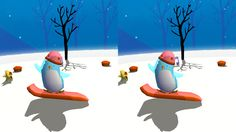 Best Google Cardboard apps: Snow Shaker Maker