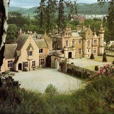Abbotsford Castle, Melrose, Scotland