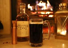 A whisky riff on the Dickensian 'Dog's Nose' with warm beer and mulling spice.
