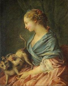 Dangerous Strokes Francois Boucher - circa 1730-1732