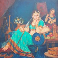 Indian Women Painting, Indian Art Paintings, 3d Wall Painting, Woman Painting, Rajasthani Painting, Indian Art Gallery, Anatomy Sketches, Goth Women, Celebrity Drawings