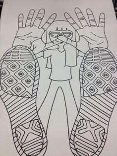OCS High School Art: Foreshortening