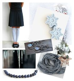 """""""winter freeze"""" by ohziedesigns ❤ liked on Polyvore featuring Lazuli"""